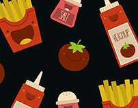French Fries | Pattern