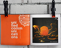 Studio DEZA's brochure for Orange
