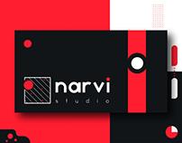 Narvi Studio   Brand Identity