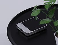 iQIYI Podoor portable projector