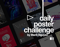 DAILY POSTER CHALLENGE (SERIE 1 - 54 POSTERS)