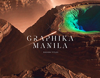 Graphika Manila 2018 Title Sequence
