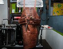 時分印刷 Teleport Press | 特製工作圍裙 Tailor Made Apron