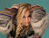 Emily Kinney (of the Walking Dead) High Fashion Shoot