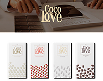 coco love- chocolate bar Packaging