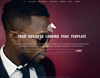Responsive Business Landing Page Template