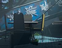 Fallout - Post Apocalypse Cafe