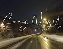 Long Night - An elegant signature script font