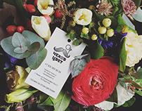 """Фирменный стиль для сети магазинов цветов """"Чехов цвет"""""""