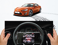 Toyota 86 Driftable Print Ad