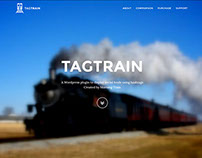 Product Website on Bootstrap www.tagtrain.me