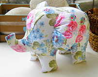 Handmade Eplephants (Stuffed Toys)