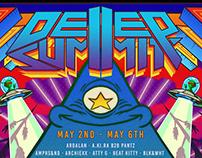 Deep Summit 2 lineup poster