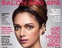 Aditi Rao for the Cover of Femina Salon and Spa.