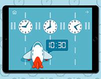 Learning time app | Изучаем время