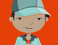 Character design and development for Telkom