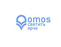 """Фирменный стиль компании и продукции """"Omos"""""""