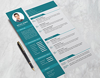 Resume/CV Free Download Ai File