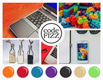 Code Fizz Branding & Mood Board