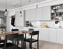 Scandinavian Apartment in Stockholm