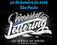 SP - Workshop de Lettering - Do sketch ao digital