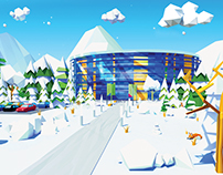 Low Poly winter