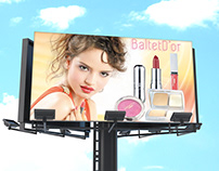 Cosmetic Advertising on Billboard
