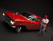 1959 Chevrolet Bel Air Lowrider
