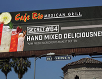 Cafe Rio Secrets Campaign