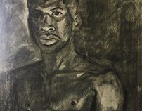 Charcoal Portrait II
