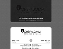 CHEF & SOMM Business Card