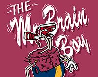 台大翻轉教室主視覺/大腦先生 The Mr.Brain Boy