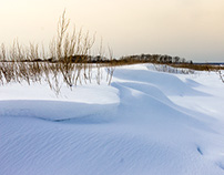 Hammonasset Beach in the Winter