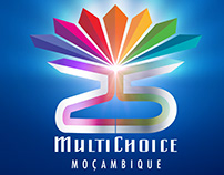 MULTICHOICE Mozambique 25years - Logo
