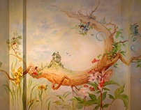 """Flower Fairies"" in Paulinka room (Warsaw -Poland)"