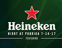 Heineken Night @Pubrika
