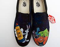Space Jam Vans Shoes