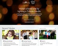 Tribute Lights Website