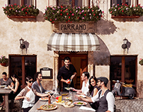 Parrano Global Campaign Visual
