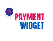 Payment Widget - Small App
