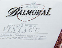 "Balmoral ""Sumatra Vintage"" packaging design"