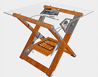 ART Furniture - Montauk Cabin Table