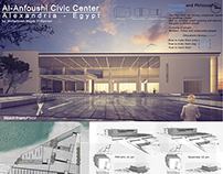Al-Anfoushi Civic Center Alexandria Egypt - Design-