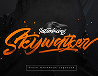 Skywalker - New Handmade Typeface