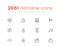 2061 Nanoline Icon