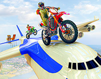 Tricky Bike Trail stunts