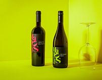 Modern Wine Label Design – Manolis