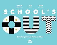 "HMI's ""School's Out"" Event Branding"