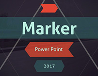 Marker Powerpoint template