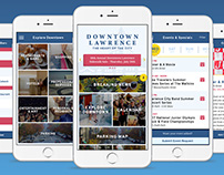 Downtown Lawrence App